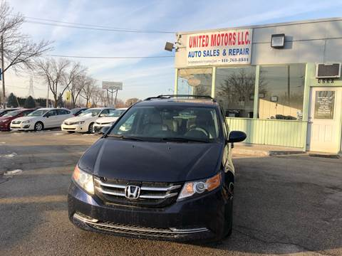 2015 Honda Odyssey for sale in Saint Francis, WI
