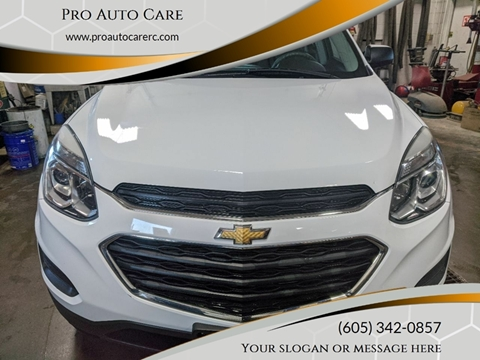 2016 Chevrolet Equinox LS for sale at Pro Auto Care in Rapid City SD