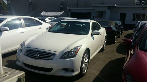 2012 Infiniti G37 Coupe for sale in South Gate, CA