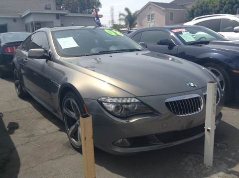 2008 BMW 6 Series for sale in South Gate, CA