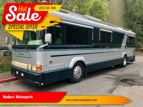 1991 Blue Bird Wanderlodge for sale at Mudarri Motorsports in Kirkland WA