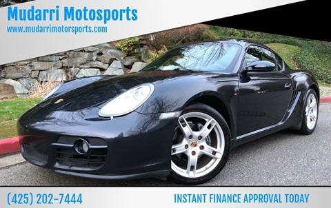 2008 Porsche Cayman for sale in Kirkland, WA