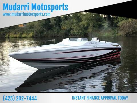 2019 Baja 27 Outlaw for sale at Mudarri Motorsports - New Boat Inventory in Kirkland WA