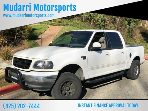 2003 Ford F-150 for sale in Kirkland, WA