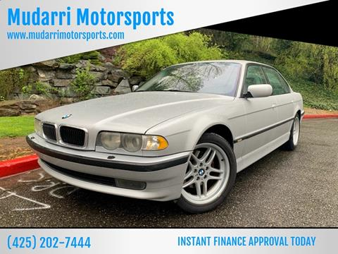 2001 BMW 7 Series for sale in Kirkland, WA