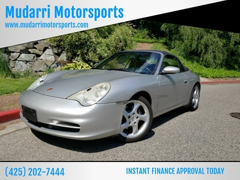 2002 Porsche 911 for sale in Kirkland, WA