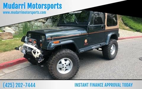 1994 Jeep Wrangler for sale in Kirkland, WA
