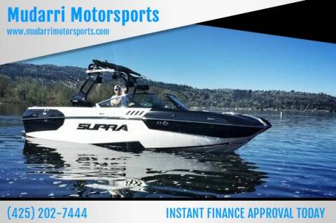 2016 Supra SA 400 for sale at Mudarri Motorsports - New Boat Inventory in Kirkland WA