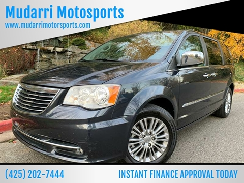 2013 Chrysler Town and Country for sale in Kirkland, WA
