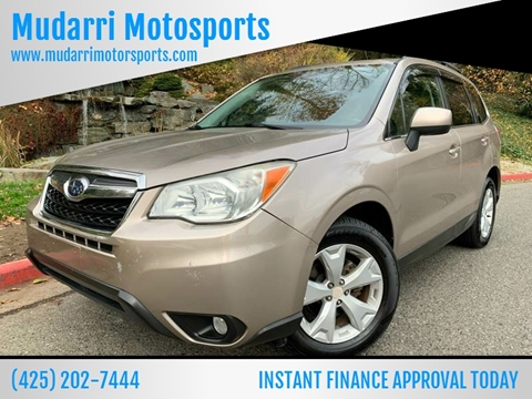 2014 Subaru Forester for sale in Kirkland, WA