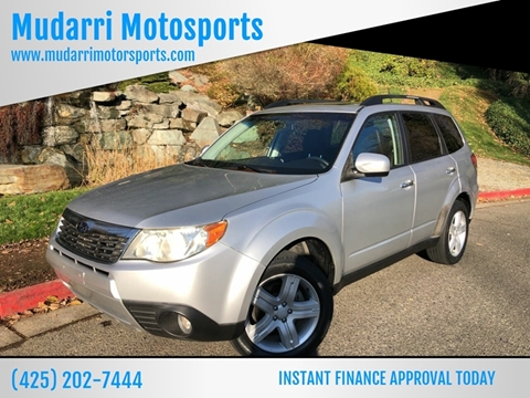 2010 Subaru Forester for sale in Kirkland, WA