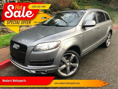 2014 Audi Q7 for sale at Mudarri Motorsports in Kirkland WA