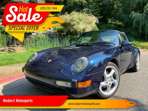 1997 Porsche 911 for sale at Mudarri Motorsports in Kirkland WA