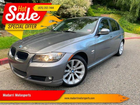 2011 BMW 3 Series for sale at Mudarri Motorsports in Kirkland WA