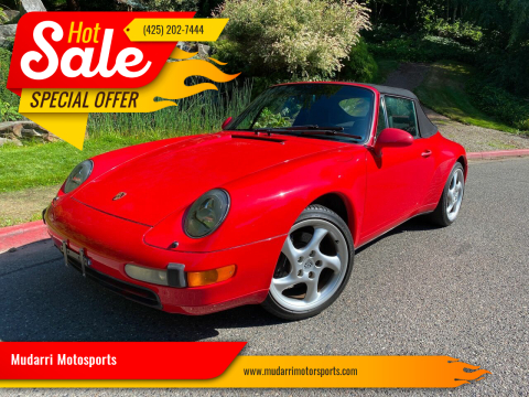 1996 Porsche 911 for sale at Mudarri Motorsports in Kirkland WA