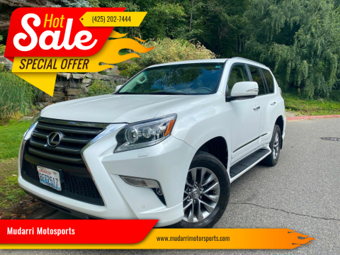 2014 Lexus GX 460 for sale at Mudarri Motorsports in Kirkland WA