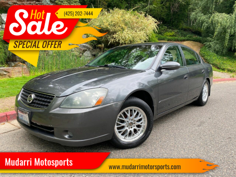 2006 Nissan Altima for sale at Mudarri Motorsports in Kirkland WA