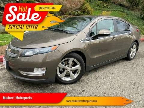 2014 Chevrolet Volt for sale at Mudarri Motorsports in Kirkland WA