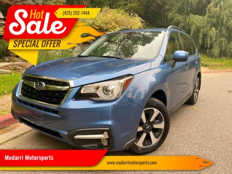 2017 Subaru Forester for sale at Mudarri Motorsports in Kirkland WA