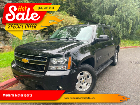 2013 Chevrolet Suburban for sale at Mudarri Motorsports in Kirkland WA