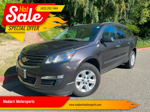 2014 Chevrolet Traverse for sale at Mudarri Motorsports in Kirkland WA