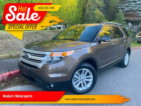 2015 Ford Explorer for sale at Mudarri Motorsports in Kirkland WA
