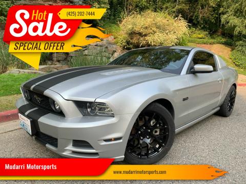2014 Ford Mustang for sale at Mudarri Motorsports in Kirkland WA
