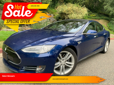 2015 Tesla Model S for sale at Mudarri Motorsports in Kirkland WA