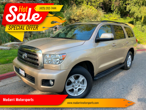 2013 Toyota Sequoia for sale at Mudarri Motorsports in Kirkland WA