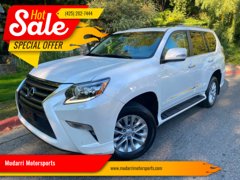 2017 Lexus GX 460 for sale at Mudarri Motorsports in Kirkland WA