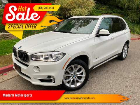 2014 BMW X5 for sale at Mudarri Motorsports in Kirkland WA