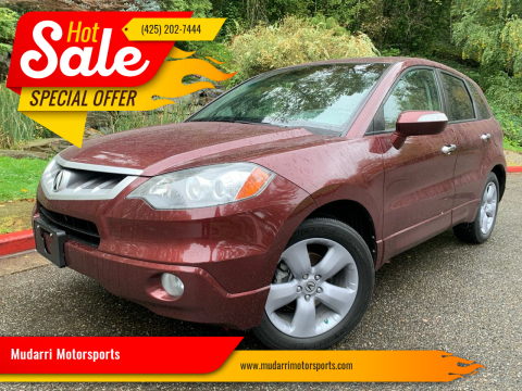 2009 Acura RDX for sale at Mudarri Motorsports in Kirkland WA