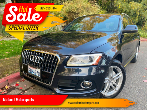 2014 Audi Q5 for sale at Mudarri Motorsports in Kirkland WA