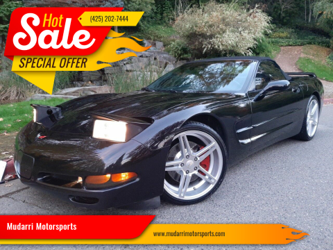 1998 Chevrolet Corvette for sale at Mudarri Motorsports in Kirkland WA