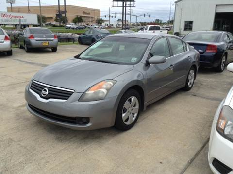 2007 nissan altima for sale in louisiana. Black Bedroom Furniture Sets. Home Design Ideas