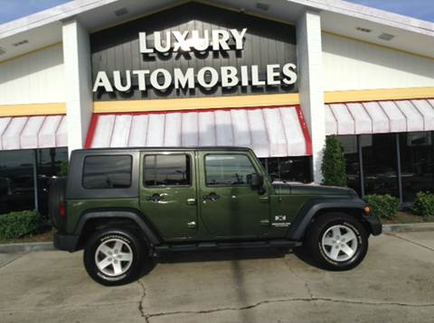 2008 Jeep Wrangler Unlimited for sale in Houma, LA