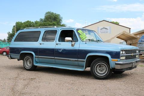1989 Chevrolet Suburban For Sale In Fort Collins Co