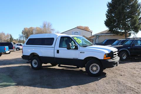 2000 Ford F-250 Super Duty for sale at Northern Colorado auto sales Inc in Fort Collins CO
