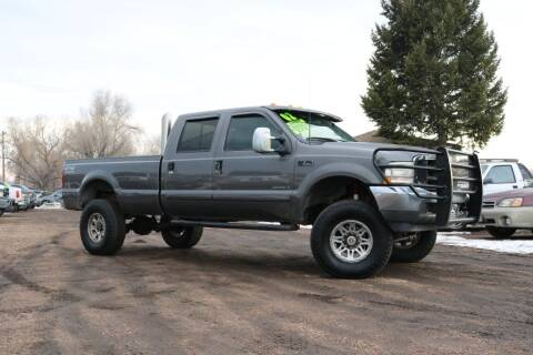 2002 Ford F-350 Super Duty for sale at Northern Colorado auto sales Inc in Fort Collins CO