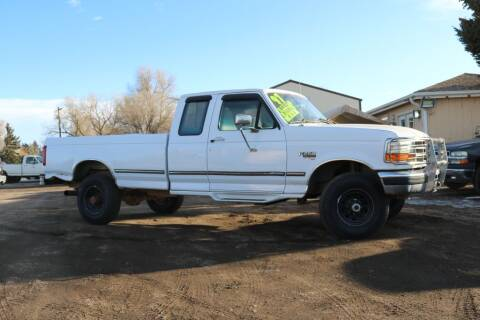 1997 Ford F-250 for sale at Northern Colorado auto sales Inc in Fort Collins CO