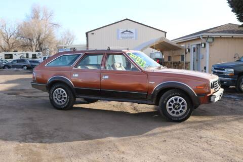 1983 AMC Eagle 30 for sale at Northern Colorado auto sales Inc in Fort Collins CO