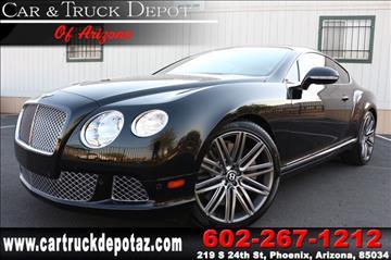 2014 Bentley Continental GT Speed for sale in Phoenix, AZ
