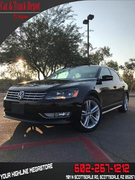 2015 Volkswagen Passat for sale in Phoenix, AZ