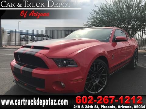 2011 Ford Shelby GT500 for sale in Phoenix, AZ