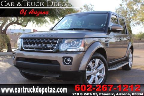 2015 Land Rover LR4 for sale in Phoenix, AZ