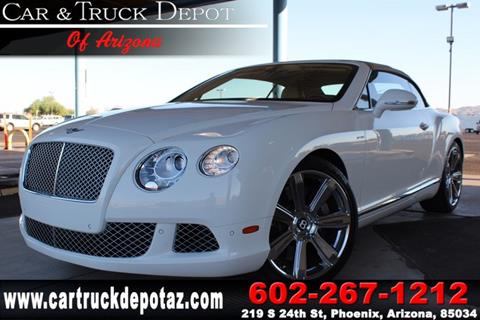 2012 Bentley Continental GTC for sale in Phoenix, AZ