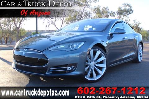 2014 Tesla Model S for sale in Phoenix, AZ