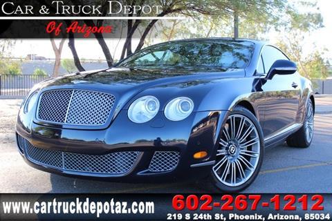2010 Bentley Continental GT Speed for sale in Phoenix, AZ