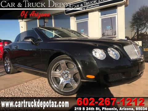 2008 Bentley Continental GTC for sale in Phoenix, AZ
