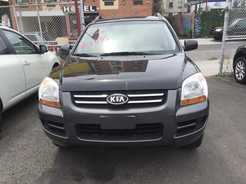 2008 Kia Sportage For Sale At ATLANTIC USED CAR SALES In Brooklyn NY